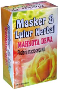 Produk Kosmetik -Graha Herbal- Masker dan Lulur Mahkota Dewa